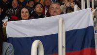Өвлийн Олимп дээр Оросын далбааг барьсан хүмүүс сэтгэгдлээ ярьжээ
