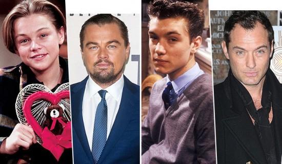 Холливудын 40 гарсан ХАЛУУХАН жүжигчдийн залуу нас