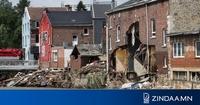 Бельгид үерийн улмаас 31 хүн амиа алдлаа